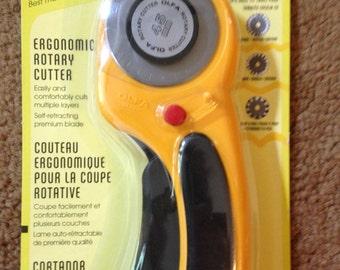 Olfa 45mm Deluxe couteau rotatif