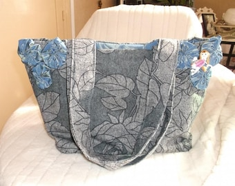fabric shoulder bag