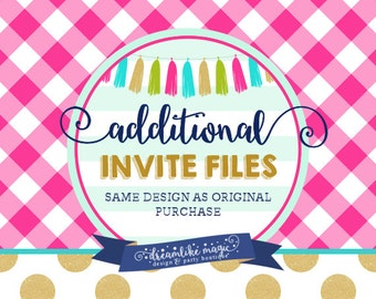 Custom Listing - Additional Invitation