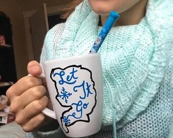 Frozen inspired mug