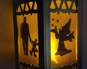 Mickey Mouse Inspired - Battery-Operated Plastic Mini Lantern