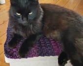 Cat mat. Small dog mat bl...