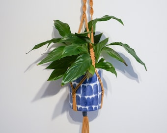 Mustard Yellow (medium) Macrame Plant Hanger