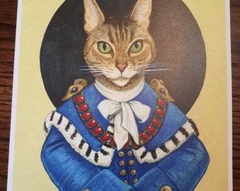 Sir Mounsington III - Cat Art Print