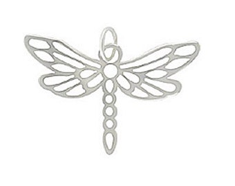 Dragonfly Charm, Silver Dragonfly Charm, Silver Dragonfly Pendant, Silver Dragonfly, Dragonfly Pendant, Silver Dragonfly Jewelry, Dragonfly
