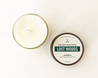 Gaming Candles, Video Game Candles, Lost Woods, Koopa Beach, Yoshi's Cookie, Soy Candles, Video Game Home Decor, Nintendo Candles, Zelda