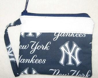 New York Yankees NY Custom made Wristlet MLB Embroidered