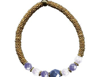 Luxor Night Bracelet KIT blue & gold