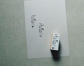 Yohaku Original Stamps S-02 - Time