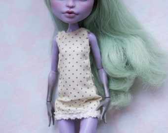 dress outfit for little monster high doll  MH 27 cm Ever after high  1/6 eah