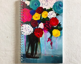 TELL ME ALL About It Art Notebook