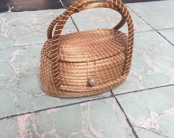 Huinumo Small Woven Basket