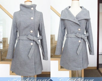 gray black camel coat woolen coat winter coat autumn coat warm women clothing women coat long sleeve coat long jacket outerwear slim fit