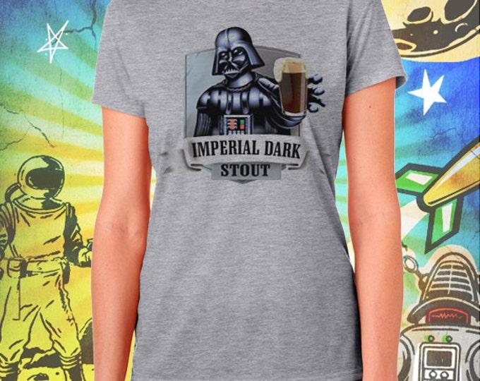 Star Wars / Darth Vader / Imperial Dark Stout / Women's Gray Performance T-Shirt