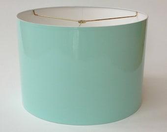 High Gloss Robinu0027s Egg Blue Lamp Shades