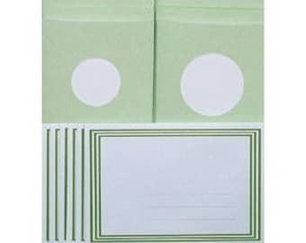 Kit cards + mat green 973508