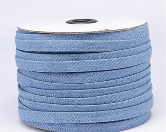 On Sale NOW 25%OFF 10mm Flat Denim Cord - Your Color Choice - 24 Inches
