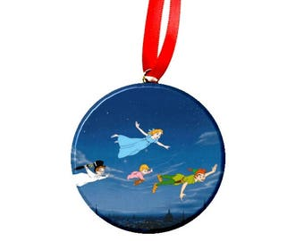 Disney Peter Pan Wendy Michael John Christmas Tree Ornament