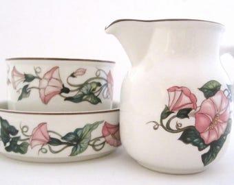 Villeroy & Boch PALERMO China CHOICE Creamer, Open Sugar Bowl, Ashtray or  All 3 Pieces