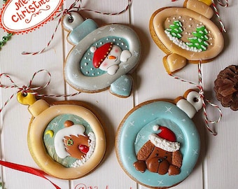 Christmas tree decorations cookies (gingerbread )