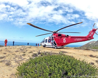 Catalina Island Helicopter