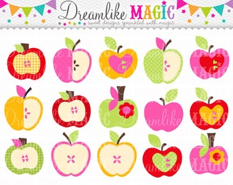 Apple of my Eye Collection- Clipart for Personal or Commercial Use