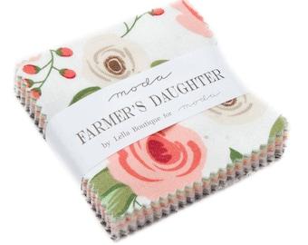 Farmers Daughter Mini Charm Pack by Lella Boutique for Moda Fabrics