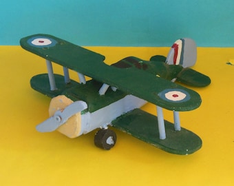 Gloster Gladiator Toy Airplane