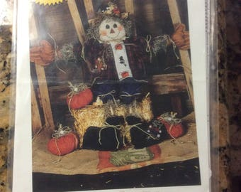 Chester McDuff Country Scarecrow Pattern