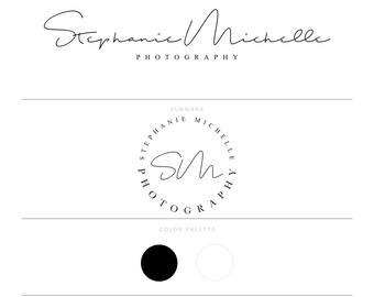 Calligraphy Logo Photography Logo Photography Watermark Fotografie Logo Lash Logo Eye Lash Logo Makeup Artist Logo Real Estate Logo Doula