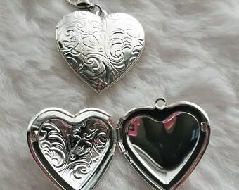 Heart Locket - Clip-On - Ready to Wear
