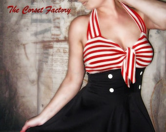 Rockabilly, Pinup 50's Sailor Skull dress