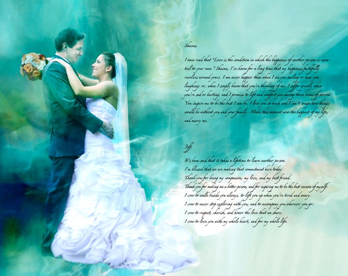 2nd Anniversary Cotton Anniversary Wedding Vow Art Song Lyric Art First Dance Lyrics First Dance Song 1st Anniversary Gift Canvas 16x20