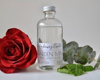 Garden Mint Reed Diffuser, Handmade, Organic, Wholesale, Bulk Order