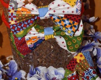 Ahern's Circus Fabric Bow
