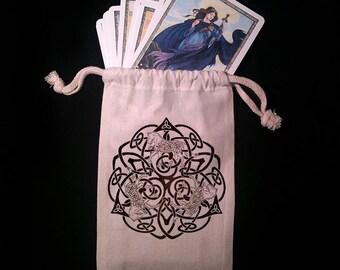 Celtic Horse Tarot Bag -  Pagan Wiccan  - Brigid Ashwood