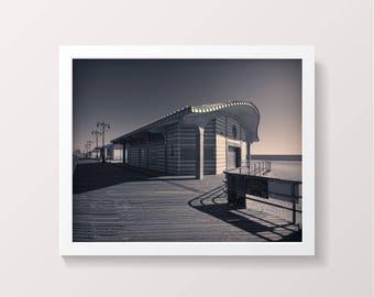 Coney Island Boardwalk Mid Century Digital Download New York NYC