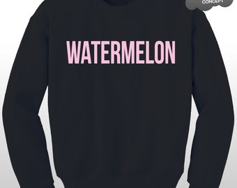 Watermelon Sweatshirt Drunk In Love Tour Angel Sweater Top Black Windcheater Flawless Yonce Pullover