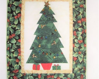 The Festive Tree - Meadow Lily Bridge Quilting Pattern - Christmas Holiday Decor