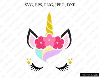 unicorn svg unicorn head svg unicorn clip art unicorn face rh etsy com svg clipart fantasy svg clipart fantasy