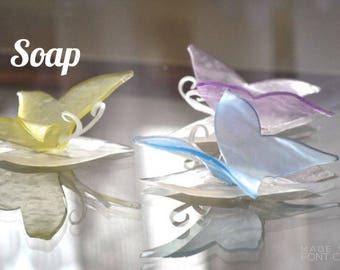 Butterfly Soap Quinceanera Favors - Sweet 16 Party Favors - Unique Baby Shower Favors - Wedding Favors For Guests, Bridal Shower Favors