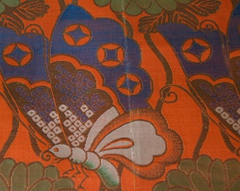 Butterfly // Vintage Obi Fabric // Last Piece!