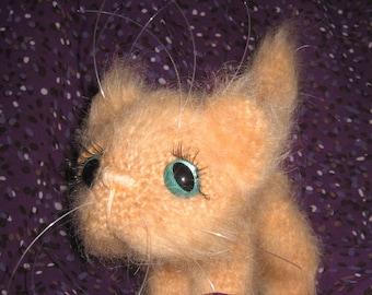 PATTERN: KITTEN CUTE crochet pattern