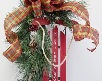 Merry Christmas Sled