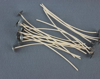 Candle Wicks  #755  - 50 -  6in for votives, small pillars or containers