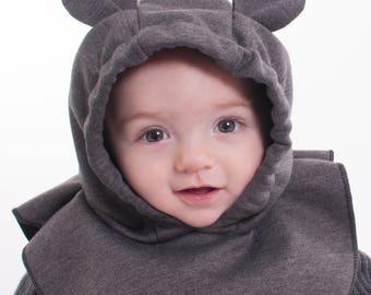 Capuchon de bébé ourson