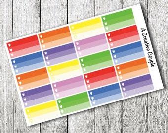 Gradient Planner Stickers