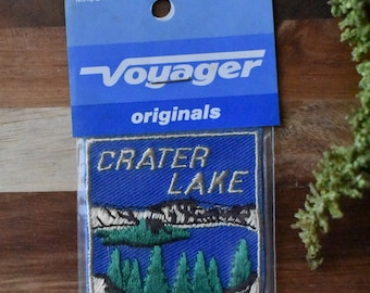 Vintage Crater Lake National Park Patch