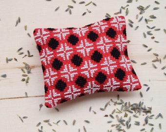 Red Lavender Sachet