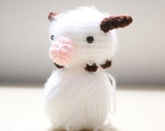 Amigurumi Chibi Doll : Cute chibi haku amigurumi doll from studio ghibli fan art